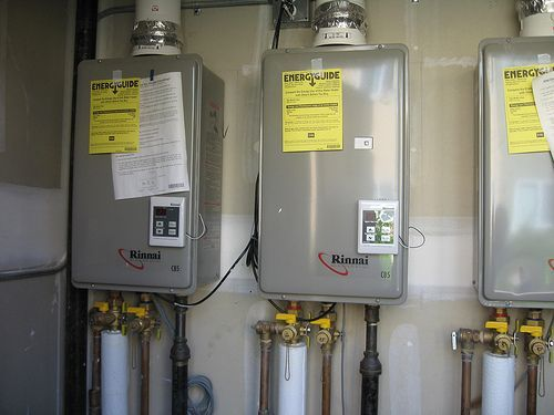 Tankless Hot Water Heater - Why Are Gas Better?